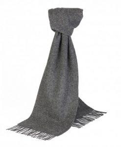 Gråt halstørklæde i lambswool